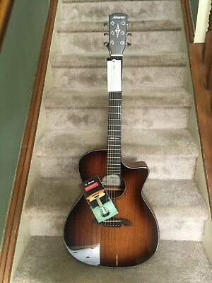 Alvarez AG660CE-SHB Artist Grand Auditorium Acoustic-Electric Guitar W/ Cutaway