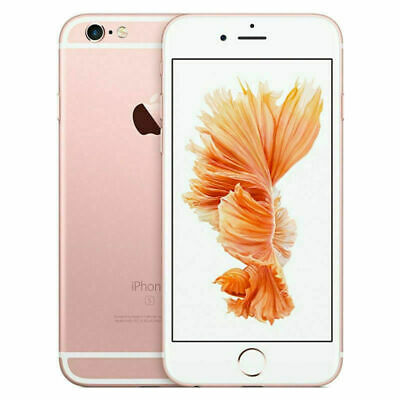 Apple iPhone 6S 64GB Factory Unlocked GSM 4G LTE WiFi iOS 12MP Camera Rose Gold