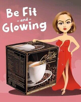 Glutalipo Coffee 💯 % Authentic(slimming & Whitening )  (louise Beauty Box 🇺🇸)
