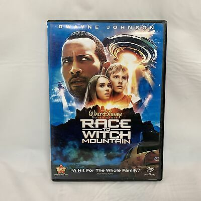 Walt Disney Race to Witch Mountain (DVD, 2009) No Booklet