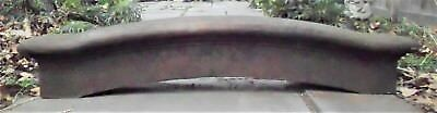 Antique Cast Iron Lintel Arched Top Architectural Salvage Heavy Metal Pediment