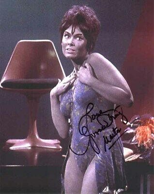 YVONNE CRAIG SIGNED AUTOGRAPHED 8x10 PHOTO MARTA STAR TREK TOS RARE BECKETT BAS