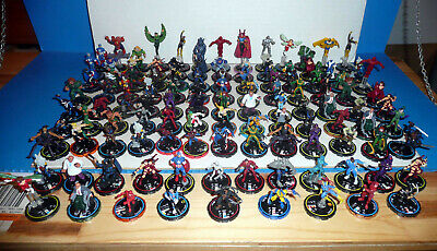Mixed Lot of Wizkids Marvel & DC Comics Game Figurines ~ See Pics ~ No Reserve !