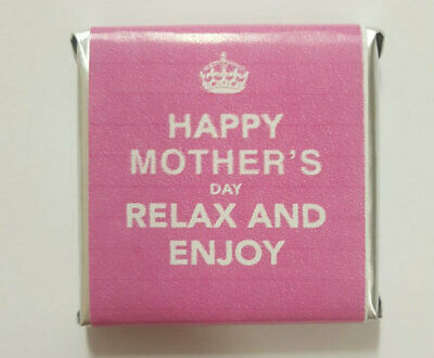 Mothers Day Belgian Chocolate - Keep Calm Motif (appox 100pc / 520g bag)