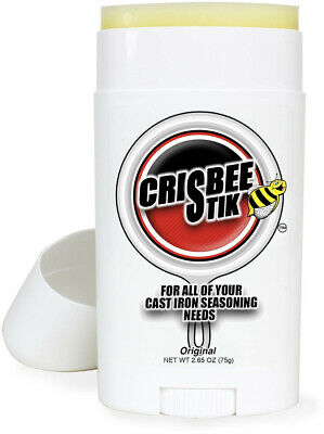 Crisbee Stik Cast Iron Seasoning USA Made Cast Iron Seasoning Oil