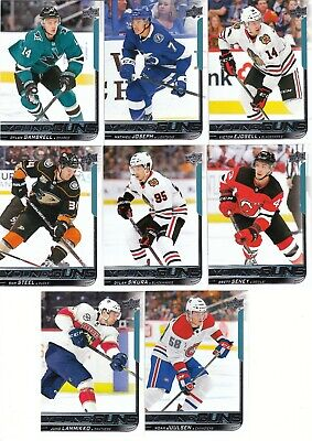 18/19 Upper Deck Series 2 Young Guns #483 Mathieu Joseph - Tampa Bay Lightning
