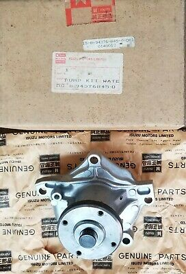 Engine Water Pump Fit Isuzu Impulse/Piazza 2.0L Turbo 85-89*Isuzu Genuine Parts*