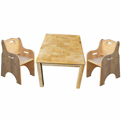 NEW Standard Square Table And Toddler Chairs - Q Toys,Kids Tables & Chairs