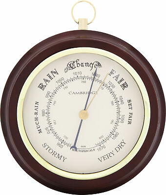 NEW 12.2cm Piano Painted Barometer - Pearl Time,Clocks