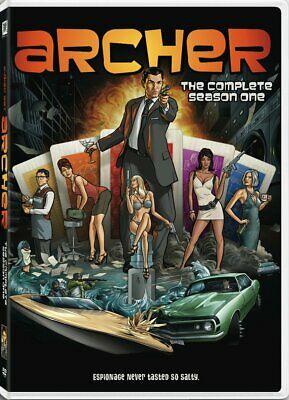 Archer Complete 1st First Season 1 One DVD Set Series TV Show Episodes Comedy R1