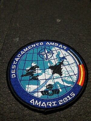 Parche militar Ejercito del Aire Spanish Air force military patch Amari 2.015