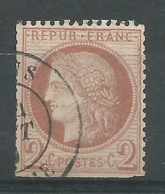 FRANCE Type Ceres  YT n° 51 OblItéré 1872