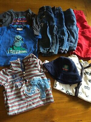 Bulk Lot Baby Boy Clothes Size 0-1