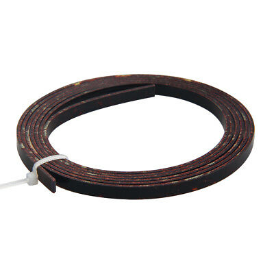 5 Feet Celluloid Acoustic Guitar Binding Purfling Strip 5mm x 1.5mm Dark Brown