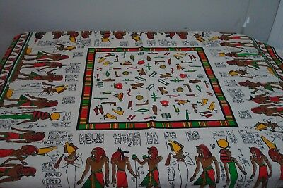 Stunning Large Egyptian Cotton Tablecloth 153 x144 cms As New - Tessilca