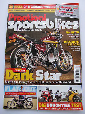 Practical Sportsbike Motorcycle Magazine - Back Issue Feb 2018 - Contents Shown