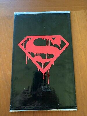 Dc Comics Superman, No. 75 The Death Of Superman Sealed Memorial Set