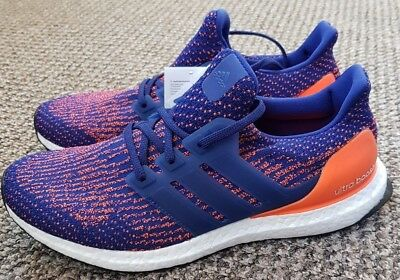 52ad54598a4 Adidas Ultra Boost 3.0 Trainers Mystic Ink Blue Orange Mystery S82020 UK9  BNIBWT