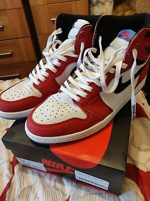 Nike Air Jordan 1 Spider man into the spiderverse Uk 11 Us 12. USED offers taken