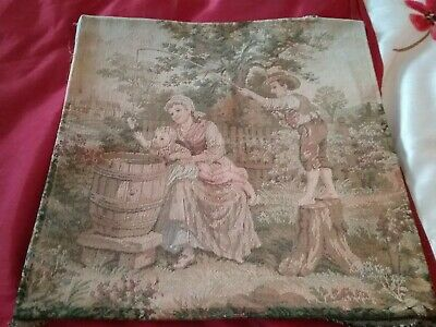 Woven Tapestry Wallhanging Picture Panel ideal cushion fronts