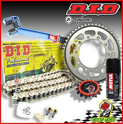 374344000 KIT CATENA CORONA PIGNONE DID SUZUKI DL 1000 V-Strom 2004-1000CC