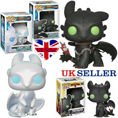 Funko POP How to Train Your Dragon 3 Toothless Vinyl Figure Collection Toy Boxed