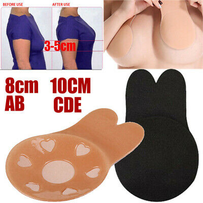 Thin Invisible Breast Nipple Cover Pads Boob Lift Tape Cup Bra Stickers Silicone
