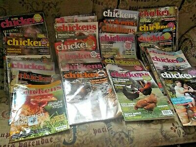 Your Chickens Magazines! X 40! Job Lot! 2011 To 2016! Archant! Charity!