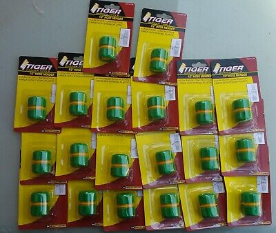 """Wholesale Job Lot 20pcs 1/2""""  Water Hose Tubing Pipe Connector Carded"""