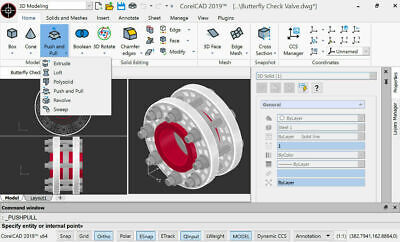 NEW Corel Cad 2019 2D 3D Modelling Drafting Design Fast Delivery