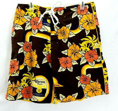 4857a813bb CORONA EXTRA MENS XL novelty swim trunks board shorts. - $10.99 ...