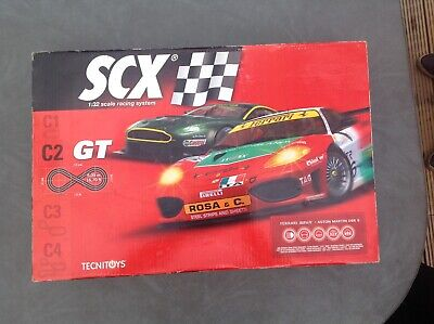 SCX Set With Chicane And Extra Cars Scalextric