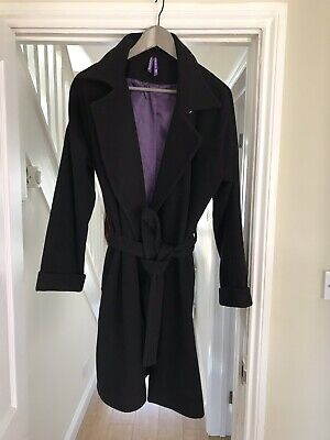 Women's Clothing Seraphine Catherine Black Maternity Coat Bnwt Rrp£135 Buy One Give One Coats & Jackets