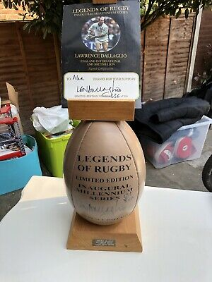 Lawrence Dallaglio Signed Rugby Ball