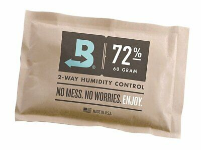 Boveda 72-Percent Rh Individually Over Wrapped 2-Way Humidity Control Pack,...