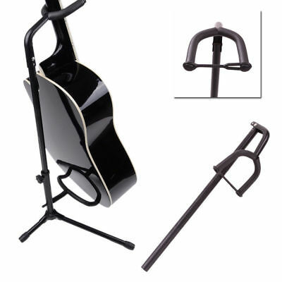 New Black On-Stage Stands Classic Guitar Stand Single