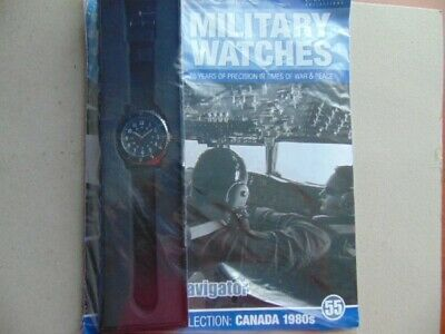 Military Watches Eaglemoss Collection Canadian Air Force Navigator 1980 (55)
