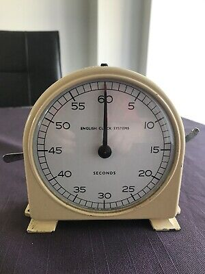 Vintage Smiths English Clock Systems Seconds Timer Darkroom