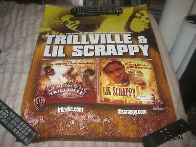 Trillville & Lil Scrappy-1 Poster-18X24 Inches-Nmint-Rare!!!