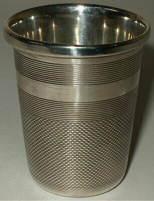 Sterling Silver Shot Cup / Oversized Thimble Francis Howard Ltd, Sheffield 1977