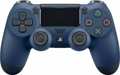 Genuine PS4 Dual Shock 4 PlayStation 4 Controller Midnight Blue (Refurbished)