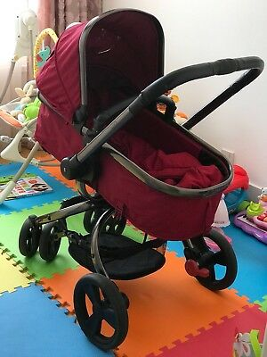 Mothercare Orb pram and pushchair Berry