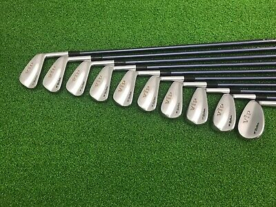 RARE MacGregor VIP BY NICKLAUS Tour Forged Iron Set 2-PW SW Right Graphite REG
