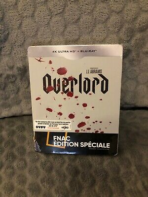 OVERLORD Steelbook Blu Ray Edition FNAC NEUF SOUS BLISTER Neuf !!!