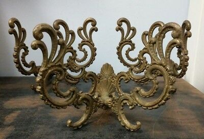 4x Antique Ornate Gold Gilded Large Coat Wall Hook 4 Piece Matching Set A1-A2