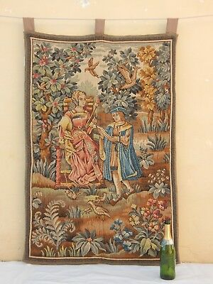 Vintage French Wall Hanging/Tapestry (132X86cm)