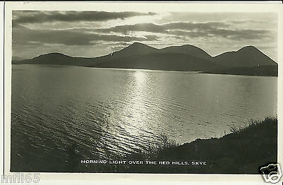 Vintage Postcard (1947) - Morning Light Over The Red Hills, Skye - Posted - 1063