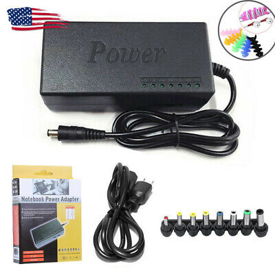 Universal Power Supply Charger for PC Laptop & Notebook, AC/DC Power Adapter US