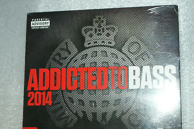 ADDICTED TO BASS 2014 * MINISTRY OF SOUND * 3x CD BOX SET * BRAND NEW & SEALED