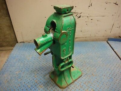"""Used Simplex 24A 15-Ton 36"""" Cap House / Railroad Ratchet Jack! Made In Usa!"""